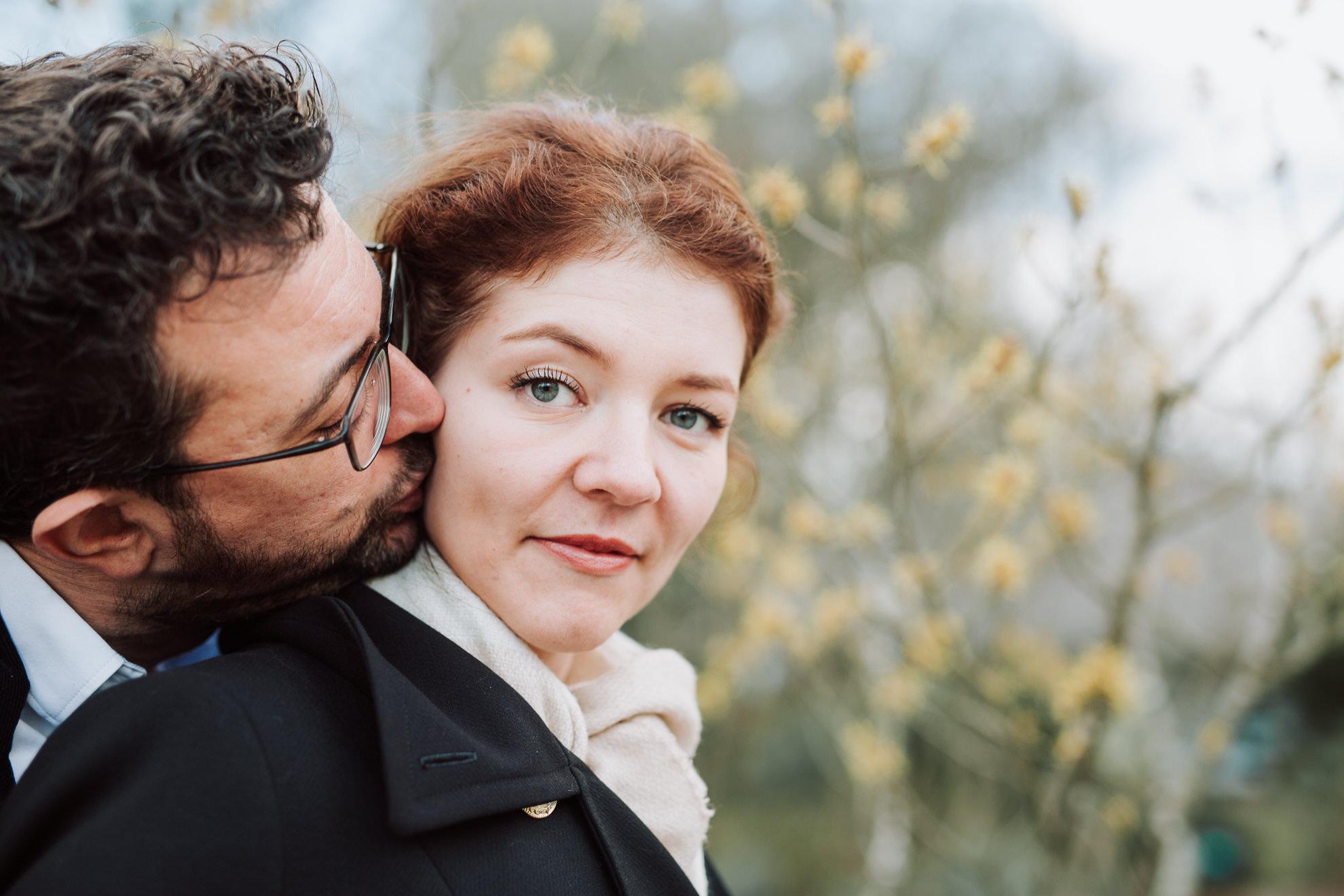 photo couple à vincennes