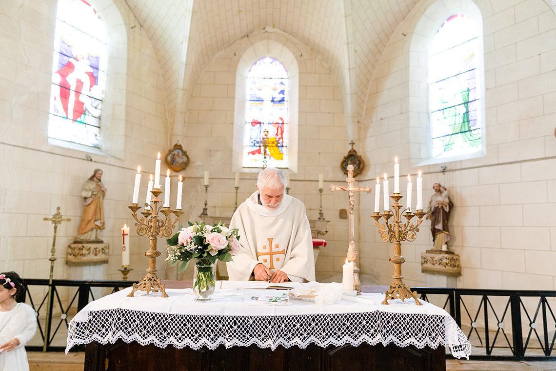 Photographe de baptême au Château de Dommerville à Angerville