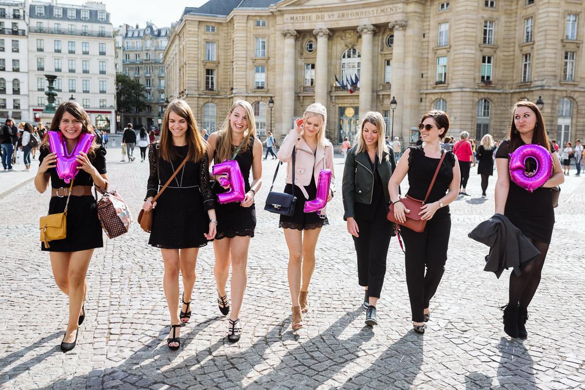 activité originale enterrement de vie de jeune fille à paris