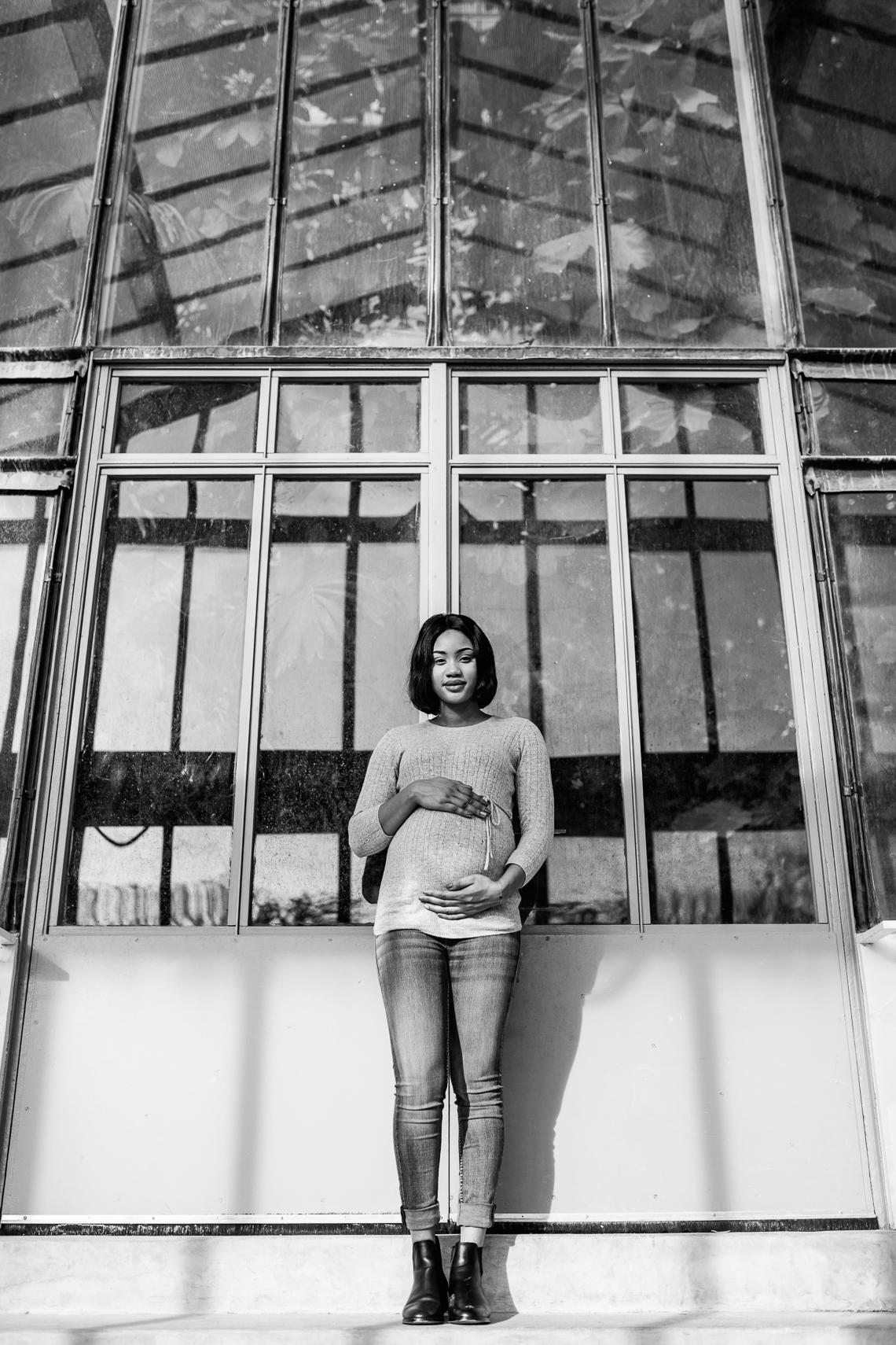 photographe Jardin des plantes grossesse Paris