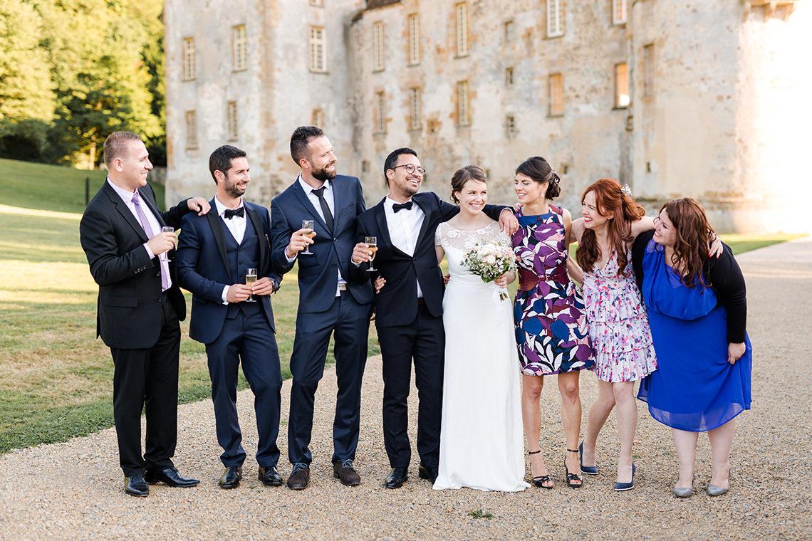 mariage chateau de bazoches bourgogne