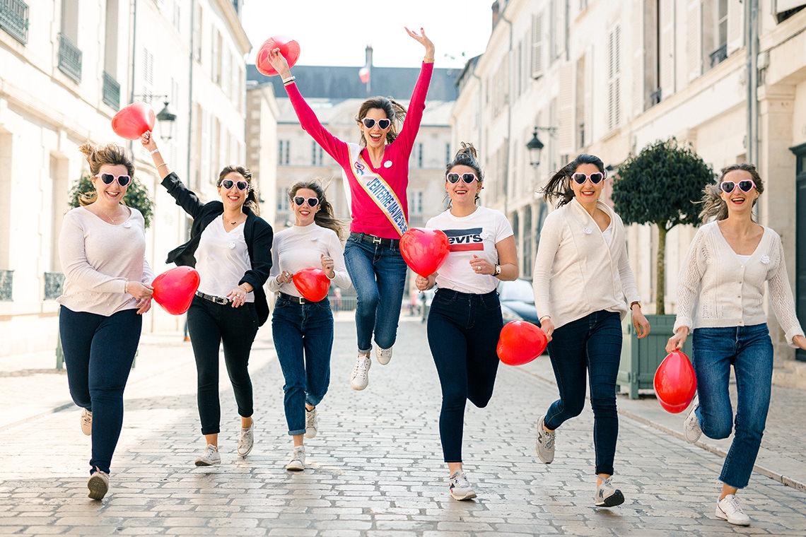 séance photo EVJF dans le vieux Orléans