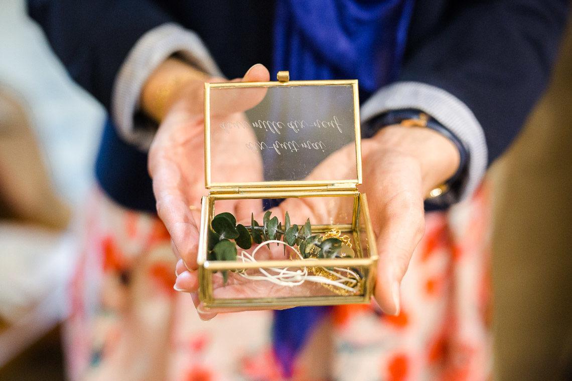 bijoux de bapteme dans une belle boite