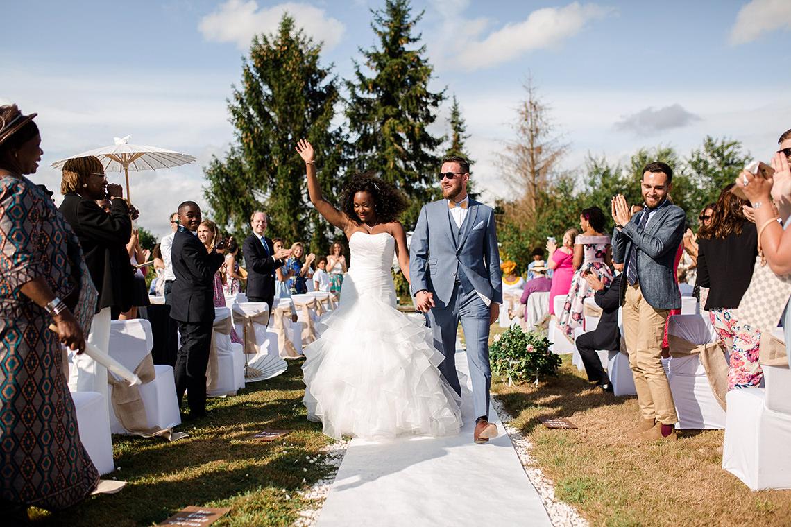 mariage deconnecté allée de mariage