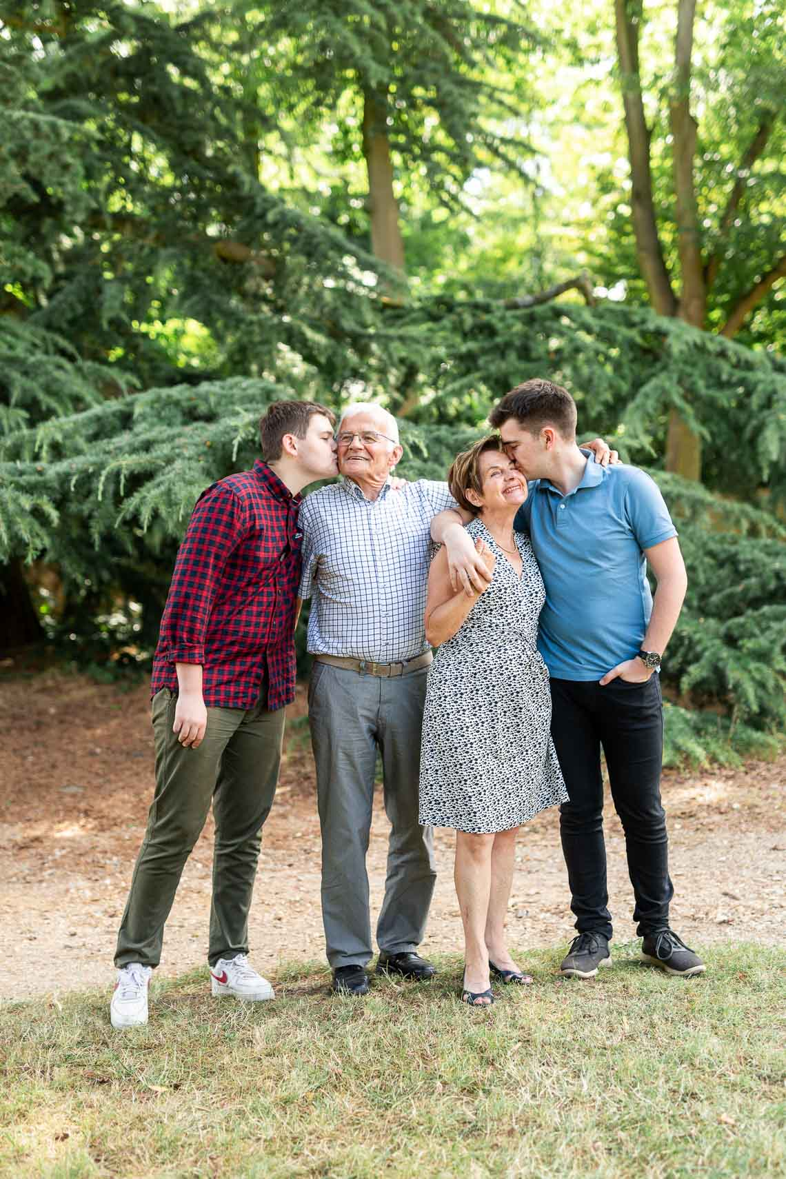 shooting famille grand-parents