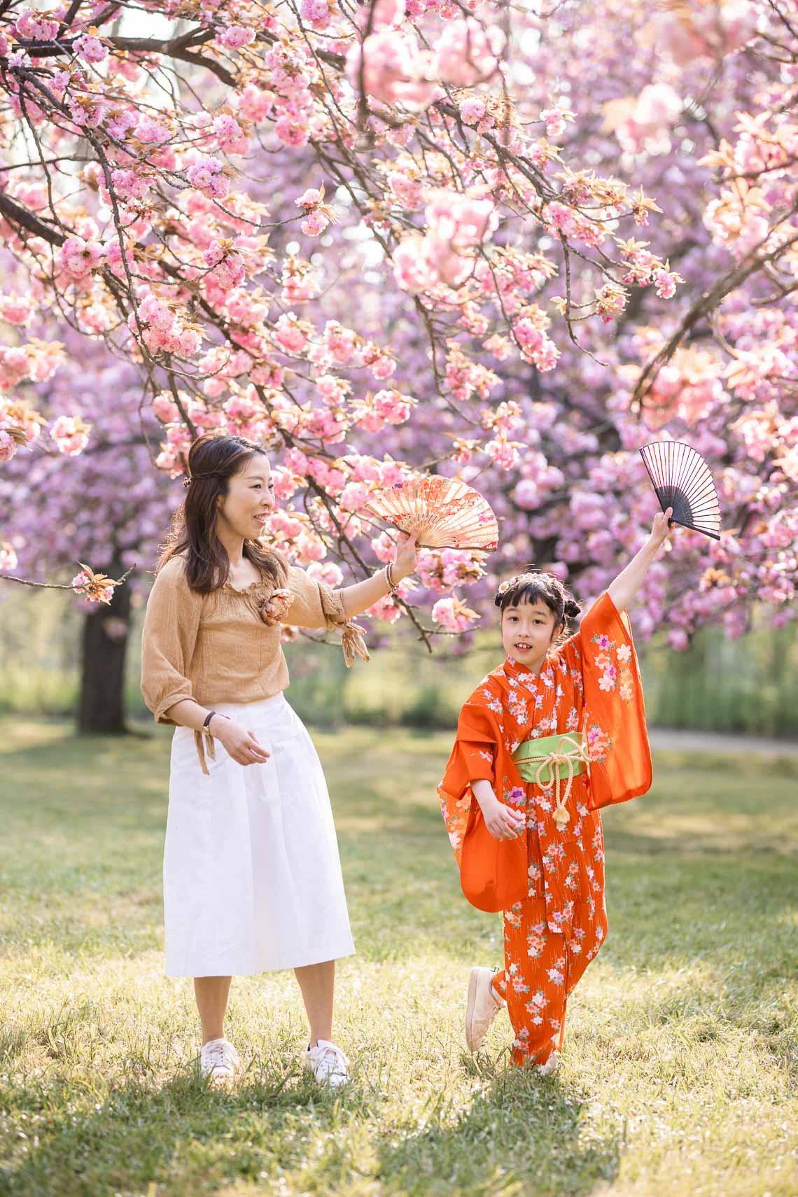 shooting hanami tenue japonaise