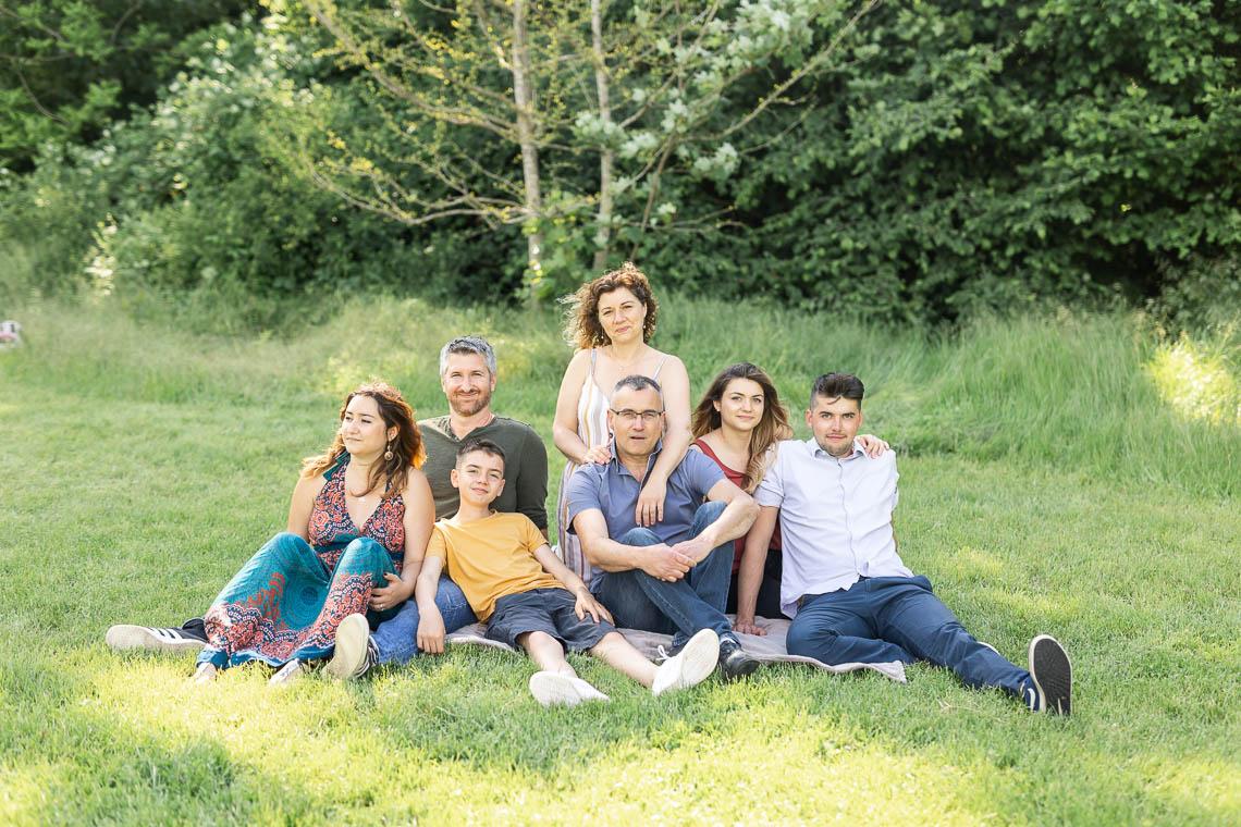 photos de famille élargie